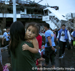 Relief Efforts Continue After Typhoon Haiyan's Destruction
